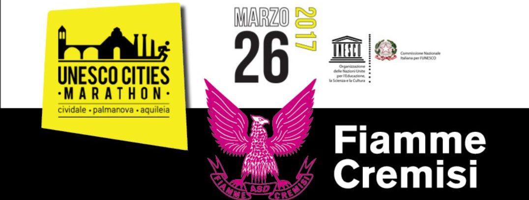 UNESCO MARATHON  CON LE FIAMME CREMISI CLICCA SULL IMMAGINE