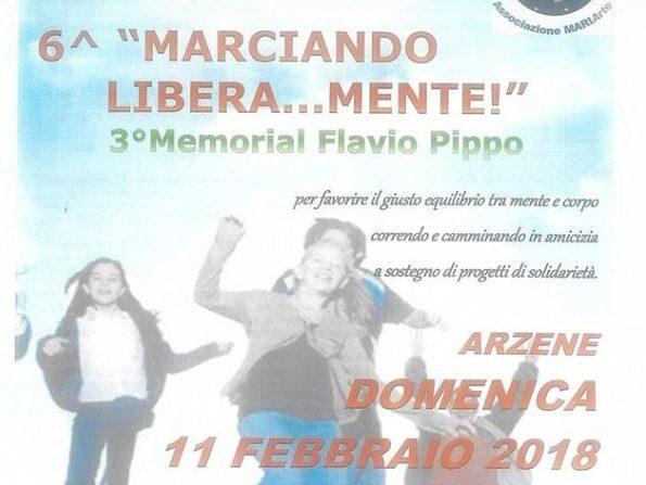 LA MARCIA PIU BELLA ARZENE DOMENICA 11 FEBBRAIO 2018