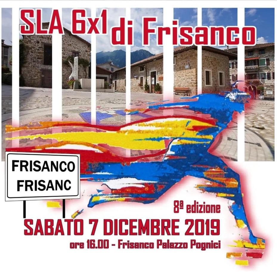 Staffetta 6x1 ora Frisanco sabato 07.12.2019